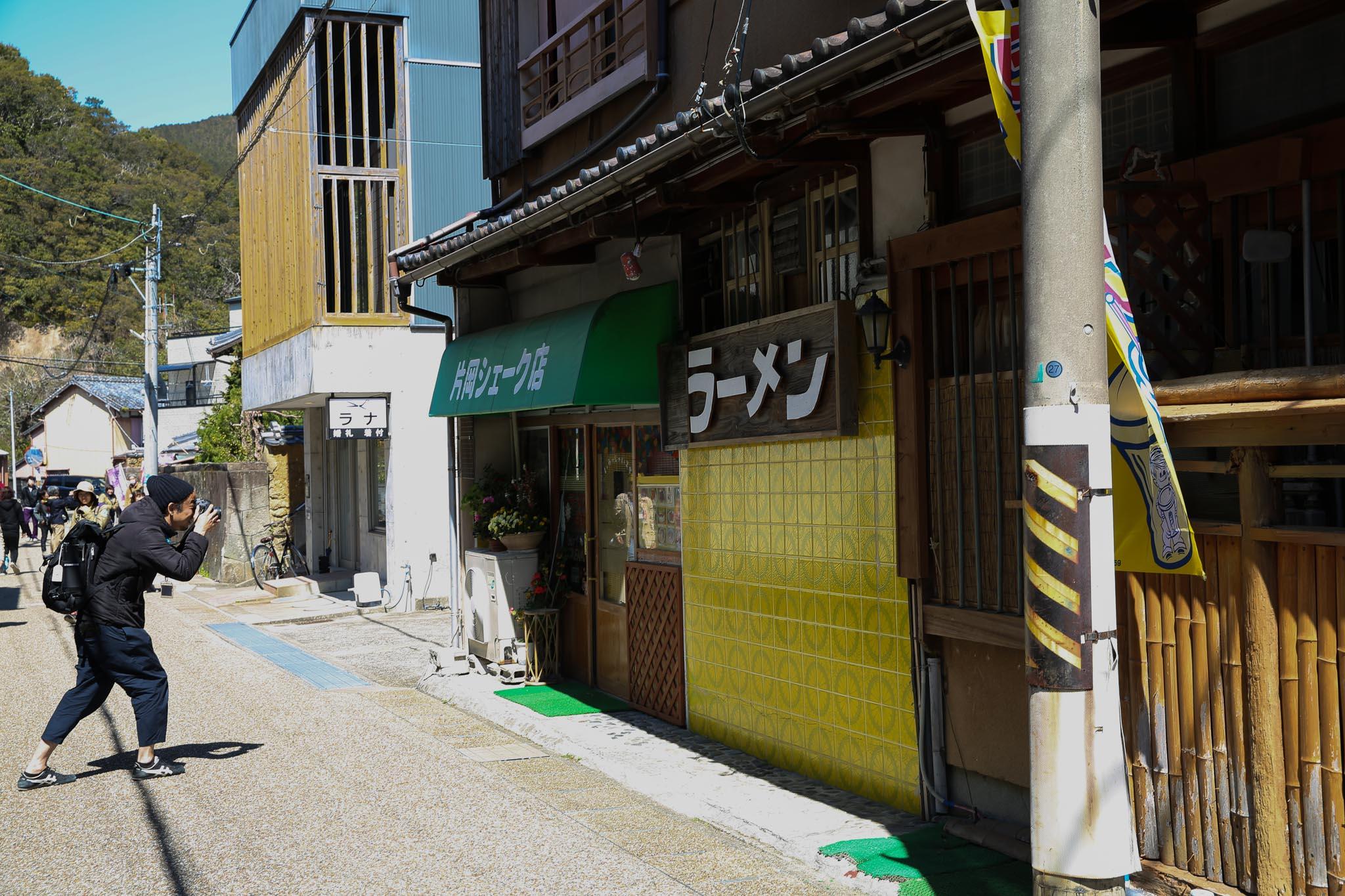 まち歩き撮影講座(外ロケ中)