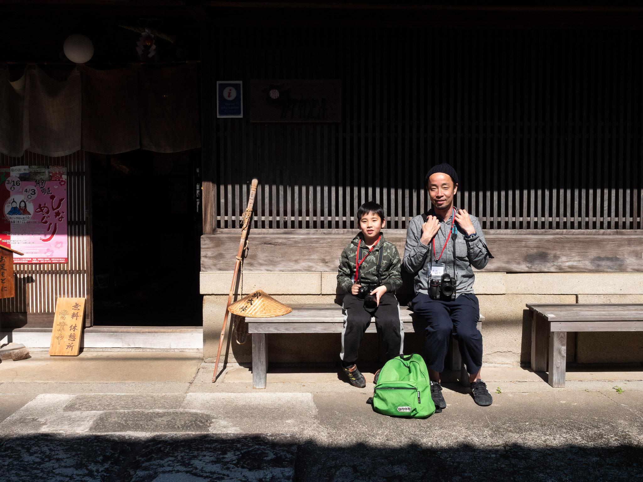 熊野まち歩き撮影講座、参加