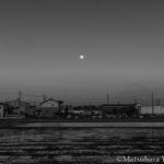 2020.04.07三重県木曽岬町の月の出