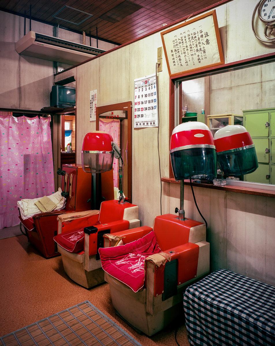 2014年三重県熊野市常磐湯の赤いオカマドライヤー