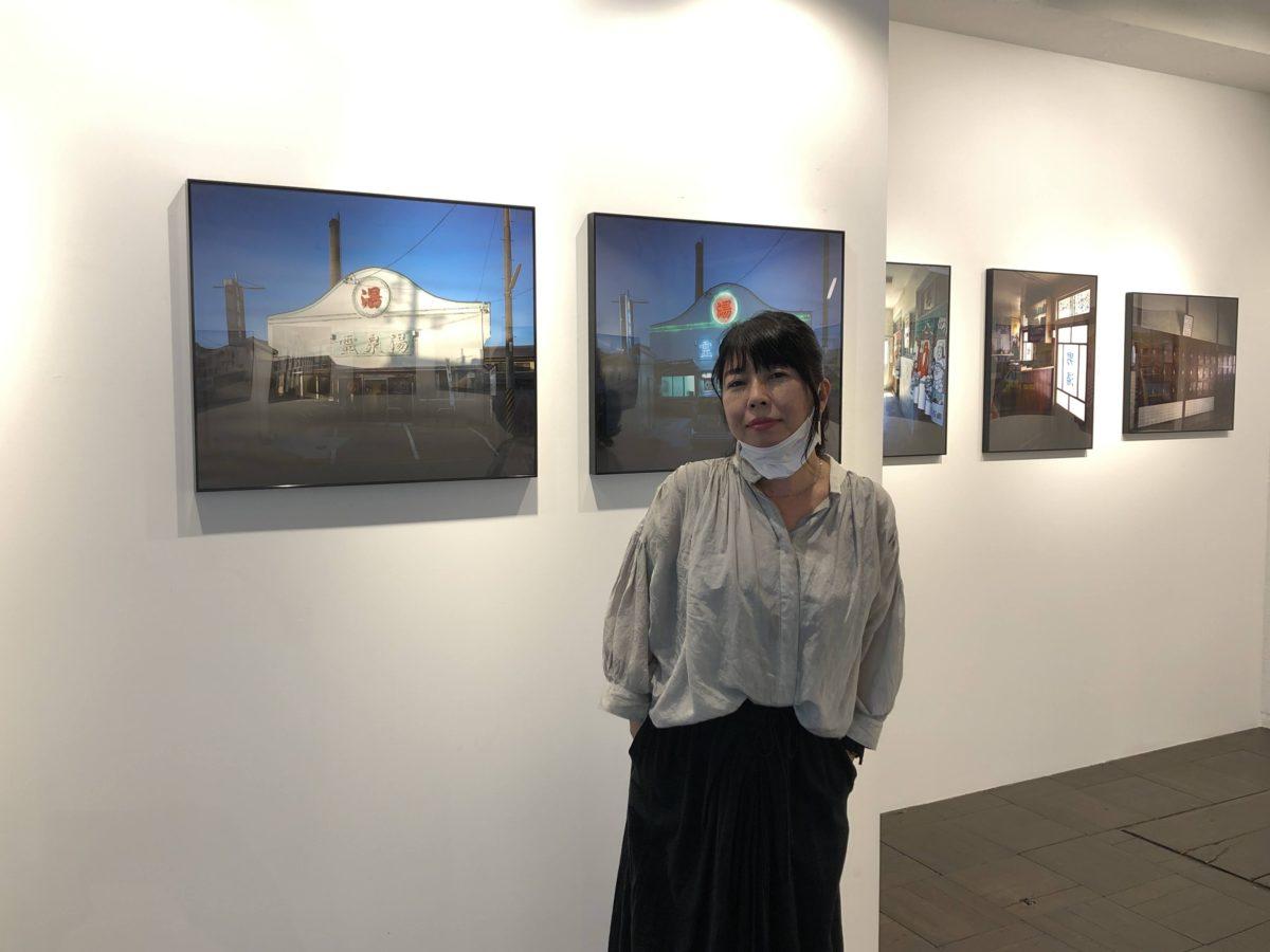 2020年TOTEM POLE PHOTO GALLERYで野村恵子さんと