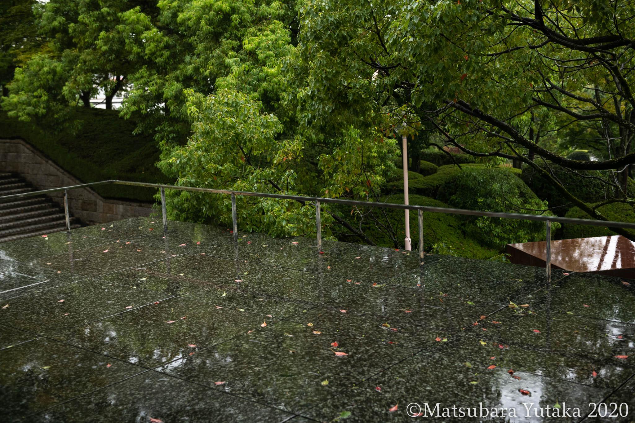 201009 雨の三重県立美術館
